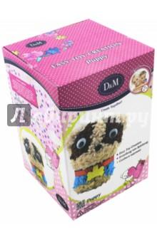 Набор для создания пушистой игрушки Щенок (66793)Изготовление мягкой игрушки<br>Игровой набор для развития детского творчества.<br>Изготовлено из текстильных материалов, полимерных материалов (пенопласт), пластмассы.<br>В комплекте: текстильные детали игрушки, декоративные детали, стека, фигурка собаки базовая.<br>Для детей от 7 лет.<br>Сделано в Китае.<br>