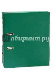 Папка-регистратор (A4, 50 мм, зеленый) (355020-03)Папки-регистраторы<br>Папка-регистратор для хранения документов.<br>С арочным механизмом.<br>Формат A4<br>Ширина: 50 мм.<br>Покрытие ПВХ/бумага.<br>Цвет покрытия зеленый.<br>Окантовка металлическая окантовка.<br>Сменный карман на корешке.<br>Сделано в России.<br>