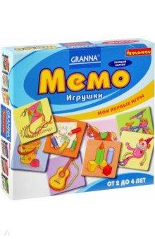 Игра настольная Мемо. Игрушки (ВВ1002)Карточные игры для детей<br>Отличная игра для развития памяти и внимания! Одна из разновидностей игры на запоминание, знакомая многим взрослым и детям. Она представляет собой набор из пар красивых и прочных картонных карточек, которые перед началом игры перемешиваются и раскладываются обратной стороной вверх. Игроки по очереди открывают по 2 карточки. Если открыты парные картинки, то игрок забирает их себе, если нет - ход переходит к следующему игроку. Формально, побеждает тот, кто наберет наибольшее количество карточек, но на самом деле - выигрывают все, потому что эта игра замечательно развивает зрительную память!<br>В наборе: 24 карточки, инструкция.<br>Для детей 2-4 лет.<br>Не рекомендуется детям до 3-х лет. Содержит мелкие детали.<br>Сделано в Польше.<br>