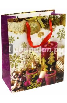 Пакет новогодний ламинированный (264х327х136 мм) (LC 028)Подарочные пакеты<br>Подарочный пакет станет незаменимым дополнением к выбранному подарку. Для удобной переноски на пакете имеются две ручки.<br>Подарок, преподнесенный в оригинальной упаковке, всегда будет самым эффектным и запоминающимся. Окружите близких людей вниманием и заботой, вручив презент в нарядном, праздничном оформлении.<br>Размер: 264х327х136 мм.<br>Ламинированный, атласные ручки.<br>Сделано в Китае.<br>