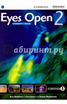 Eyes Open 2 SBАнглийский язык<br>Learn English and explore the world with Eyes Open. Developed in partnership with Discovery Education™, Eyes Open features captivating Discovery Education™ video and stimulating global topics to motivate students and spark their curiosity. Four videos in every unit make learning relevant and create opportunities for deeper understanding. Carefully progressed activities and personalised learning tasks lead to greater speaking and writing fluency. Progress monitoring tools and flexible teaching support, including graded tests and extra practice activities, ensure that every learner can achieve success. Digital support includes Interactive Student s eBook with full video and audio, and Online Workbook with extra practice activities. Presentation Plus, a complete planning and presentation tool for teachers, includes Interactive Whiteboard software, interactive Student s Book and Workbook, full video and audio content, digital Teacher s Book and Teacher s Resource Book, online teacher training and a link to the online learning management platform to track student s progress.<br>