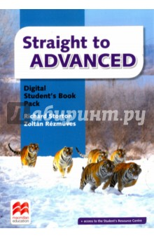 Straight to Advanced Digital Students Book Pack (Internet Access Code Card)Английский язык<br>Straight to Advanced is a short, intensive course that prepares students for the Cambridge English: Advanced (CAE) exam. This course comes with a full set of standardised print and digital components that allow students to become confident with CAE exam topics through further practice of Listening, Reading and Writing and Use of English tasks. <br>For students, the print components consist of the Student s Book (with or without Answers Keys) and the Workbook (with or without Answers Keys). A unique code from the Student s Book provides access to the Student s Resource Centre, Digital Student s Book and an Online Workbook, where a host of extra material and resources can be found.<br>
