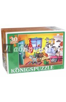 Puzzle-30 Волк и семеро козлят (ПК30-5756)Пазлы (15-50 элементов)<br>Мы производим пазлы для детей на протяжении многих лет. Наши пазлы соответствуют важным критериям - высокое качество материалов, крепкая сцепка, яркая полиграфия и идеальная форма элементов, а развивающую роль пазлов трудно переоценить - это занятие улучшает внимание, память, мелкую моторику и цветовое восприятие!<br>Количество элементов: 30.<br>Размер собранной картинки: 300х215 мм.<br>Материалы: картон.<br>Упаковка: картонная коробка.<br>Для детей от 3-х лет. Содержит мелкие детали.<br>Сделано в России.<br>