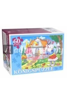Puzzle-60 Кошкин дом (ПК60-5782)Пазлы (54-90 элементов)<br>Мы производим пазлы для детей на протяжении многих лет. Наши пазлы соответствуют важным критериям - высокое качество материалов, крепкая сцепка, яркая полиграфия и идеальная форма элементов, а развивающую роль пазлов трудно переоценить - это занятие улучшает внимание, память, мелкую моторику и цветовое восприятие!<br>Количество элементов: 60.<br>Размер собранной картинки: 340х240 мм.<br>Материалы: картон.<br>Упаковка: картонная коробка.<br>Для детей от 3-х лет. Содержит мелкие детали.<br>Сделано в России.<br>