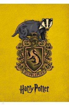 Блокнот Пуффендуй, А5, линейкаБлокноты большие Линейка<br>Да начнется магия!<br>Блокноты к двадцатилетию величайшей вселенной Гарри Поттер - оформления повторяют коллекционные издания книг! <br>Эксклюзивные оформления четырех факультетов - Гриффиндор, Слизерин, Когтевран, Пуффендуй со стильными гербами и главными животными факультетов и все в сочных фирменных цветах с закрашенным в тон обрезом.<br> Внутри вы найдете максимально удобный блок в линейку для записи ваших мыслей и дел.<br>Станьте обладателем коллекционных блокнотов магической вселенной!<br>