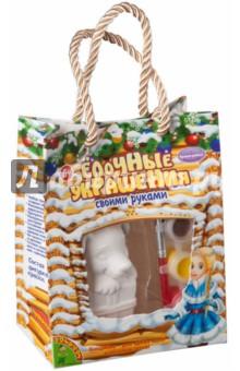 Набор для творчества Новогодние украшения. Собачка (ВВ1939)Другие виды конструирования из бумаги<br>Набор для детского творчества.<br>Комплектность: краски, фигурка, кисточка.<br>Состав: керамика, акриловые краски, кисть.<br>Для детей старше 5 лет.<br>Сделано в Китае.<br>