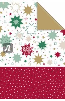 Бумага упаковочная 0,7x2м Duo Mael (917272)Подарочная упаковка<br>Бумага упаковочная подарочная в рулоне.<br>Размер в развернутом виде: 200х70 см.<br>Мелованная с одной стороны.<br>С полноцветным декоративным рисунком.<br>Сделано в Германии.<br>