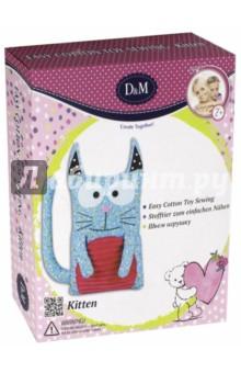 Шьем игрушку КотикИзготовление мягкой игрушки<br>Набор для шитья игрушек из ткани.<br>В комплекте: текстильные детали игрушки, декоративные детали, набивной материал, игла металлическая, нитки, инструкция.<br>Изготовлено из текстильных материалов (в том числе фетра), пластмассы, набивного материала (синтетическое волокно), металла.<br>Рекомендуемый возраст: 7+<br>Сделано в Китае.<br>