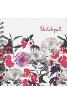Скетчпад Апрельские цветы (80 листов, гребень) (47173)Альбомы/папки для профессионального рисования<br>Альбом для эскизов.<br>Формат 195х195 мм, 80 листов, гребень.<br>