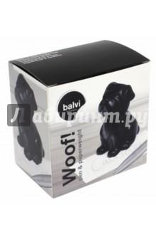 Ручка и пресс-папье Woof! (черный) (26728)Подарочные бизнес-наборы<br>Набор ручки и пресс-папье.<br>Производитель: Испания.<br>