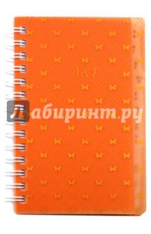 Телефонная книга АССОРТИ, 4 вида (45500)Телефонные книги малые (менее формата А6)<br>Телефонная книга.<br>Формат: 85х129 мм<br>Количество страниц: 144<br>Внутренний блок: офсет <br>Тип линовки: линия<br>Крепление: двойная спираль<br>Сделано в Китае<br>
