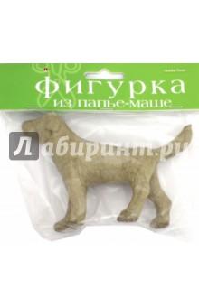 Фигурка из папье-маше СОБАКА (2-593/15)Раскрашиваем и декорируем объемные фигуры<br>Фигурка из папье-маше.<br>Для декора и поделок.<br>Сделано в Китае.<br>