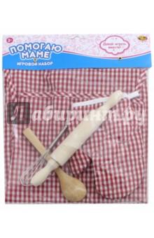 Одежда для кулинара, 5 предметов (РТ-00719)Играем в профессии<br>Игрушка - предметы игрового обихода.<br>Материал: пластмасса, текстиль.<br>Для детей от 3 лет.<br>Сделано в Китае.<br>