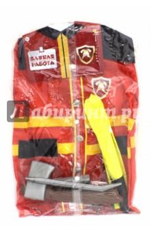 Форма пожарного, 7 предметов (РТ-00779)Играем в профессии<br>Форма пожарного.<br>7 предметов.<br>Материал: полимерные материалы, текстиль<br>Для детей от 3-х лет.<br>Сделано в Китае.<br>