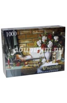 Puzzle-1000 Красивый натюрморт (ALPZ1000-7745)Пазлы (1000 элементов)<br>Мы представляем эксклюзивную коллекцию Puzzolini - революцию в мире пазлов. Завораживающие изображения - работы лучших мировых художников и фотографов, яркая полиграфия, высококачественный материал, уникальный дизайн - всё это неоспоримые достоинства серии Puzzolini, а сцепка элементов настолько крепка, что позволяет поднять готовый пазл вертикально! Пазлы Puzzolini - для тех, кто понимает.<br>Размер: 685х485<br>Количество элементов: 1000<br>Материал: картон<br>Произведено в России.<br>