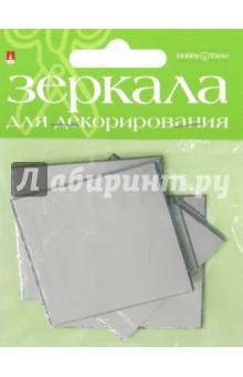 Зеркала для декорирования квадратные,12 штук, ширина 50 мм, стекло (2-471/01)Сопутствующие товары для детского творчества<br>Зеркала для декорирования квадратные.<br>Состав: стекло.<br>Количество: 4 штуки.<br>Ширина: 50 мм.<br>Сделано в КНР.<br>