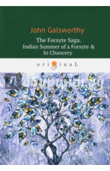 The Forsyte Saga. Indian Summer of a Forsyte &amp; InХудожественная литература на англ. языке<br>The three novels which make up The Forsyte Saga chronicle the ebbing social power of the commercial upper-middle class Forsyte family between 1886 and 1920. Soames Forsyte is the brilliantly portrayed central figure, a Victorian who outlives the age, and whose baffled passion for his beautiful but unresponsive wife Irene reverberates throughout the saga. Written with both compassion and ironic detachment, Galsworthys masterly narrative examines not only their fortunes but also the wider developments within society, particularly the changing position of women in an intensely competitive male world. Above all, Gallsworthy is concerned with the conflict at the heart of English culture between the soulless materialism of wealth and property and the humane instincts of love beauty and art.<br>