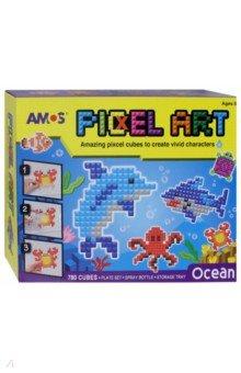 "Аква мозаика из пикселей ""Океан"" (21511)"