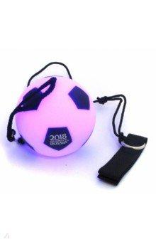 Мяч на веревке с LED-подсветкой. Футбол FIFA 2018 (СН 073)