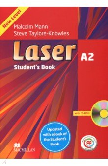 Laser 3rd Edition A2 Student's Book with CD-ROM and Macmillan Practice Online +eBook Pack
