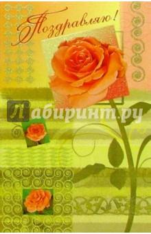 5203/Поздравляю/открытка двойная