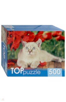 "TOPpuzzle-500 ""Тайская кошка"" (ГИТП 500-4199)"