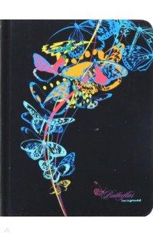 """Записная книжка """"Голубые бабочки"""" (96 листов, А 6, линия) (С 3359-01)"""