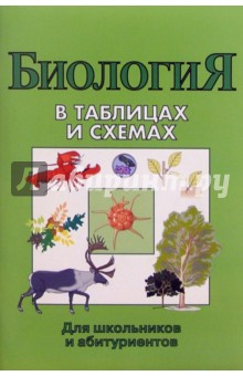 Биология в таблицах и схемах для школьников и абитуриентов.