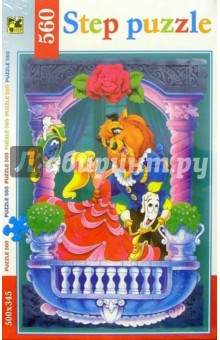 Step Puzzle-560 78043 Красавица и Чудовище