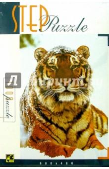 Step Puzzle-1000 79012 Тигр на снегу