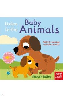 Listen to the Baby Animals (sound board book)