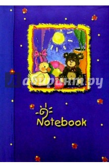 Notebook 1139 48 листов (синий, игрушки)