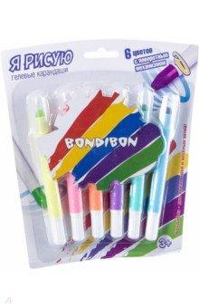 Набор гелевых карандашей для рисования (6 цветов) (ВВ 2238)