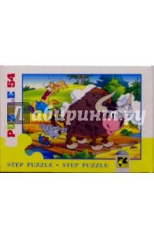 """Step Puzzle-54 """"Приключения кота Леопольда"""" (71021)"""
