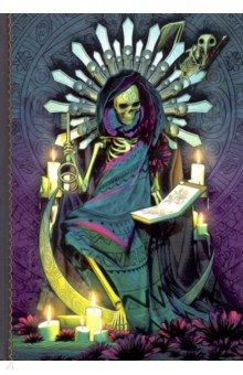 """Дневник """"Santa Muerte"""" (160 страниц, 150 х 210 мм, нелинованный)"""
