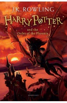 Harry Potter 5: Order of the Phoenix (rejack.) HB