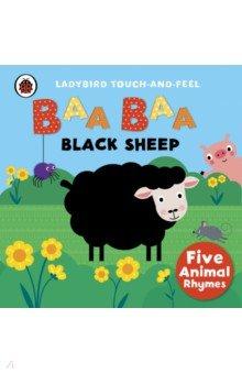 Baa, Baa, Black Sheep- ouch-and-feel rhymes, board