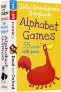 Julia Donaldson's Songbirds Alphabet Games. Stages 1-3