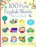 100 First English Words. Sticker Book