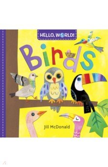Hello, World! Birds (board bk)