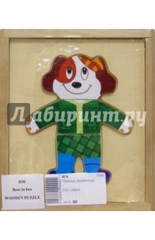 Собаки (D30)Сборные 2D модели и картинки из дерева<br>Игрушка предназначена для детей до 6 лет.<br>Материал: дерево<br>Сделано в Китае.<br>Предназначен для детей от 3-х лет<br>