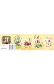 Деревня (D132)Сборные 2D модели и картинки из дерева<br>Деревянная игрушка предназначена для детей до 6 лет.<br>Рамка-вкладыш на тему Деревня. <br>Размер доски: 29,3х9,1см. <br>Рамка выполнена из дерева, держатели - пластик. <br>Сделано в Китае.<br>