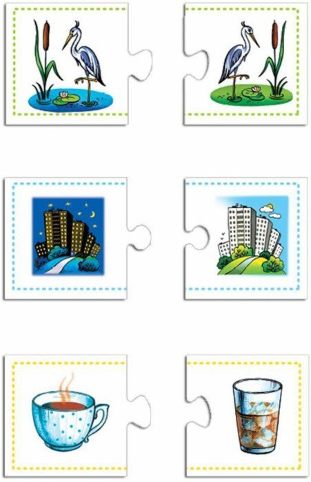 Иллюстрация 1 из 5 для Мини-игры. Контрасты (1147) | Лабиринт - игрушки. Источник: Лабиринт