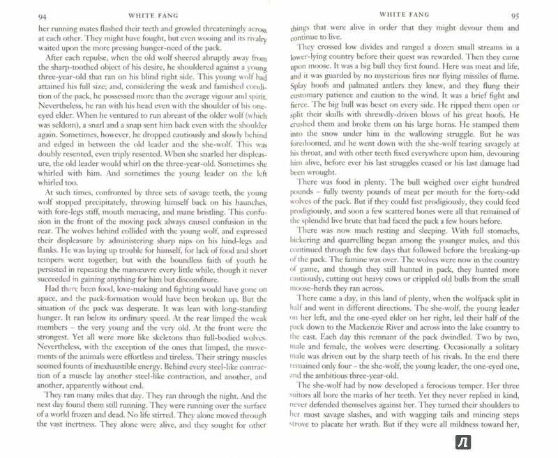 Иллюстрация 1 из 19 для The Call of the Wild and White Fang - Jack London   Лабиринт - книги. Источник: Лабиринт