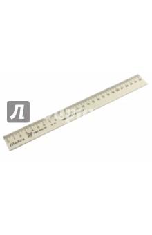 Линейка деревянная 25 см (С06) МД НП Красная звезда