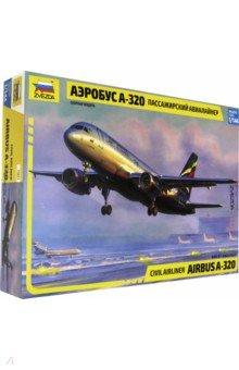 Пассажирский аэробус А320 М:1/125 (7003)Пластиковые модели: Авиатехника (1:144)<br>Пассажирский самолет Аэробус А320 является основным самолетом Аэрофлота на международных авиалиниях, став первым в мире пассажирским самолетом с электродистанционной системой управления (ЭДСУ). Разработан международной компанией Аэробус. Первый самолет получила авиакомпания Эр Франс в 1988 году.<br>Масштаб: 1/144<br>В наборе 140 деталей<br>Производство: Россия<br>
