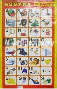 Плакат: Азбука (А1, красная)