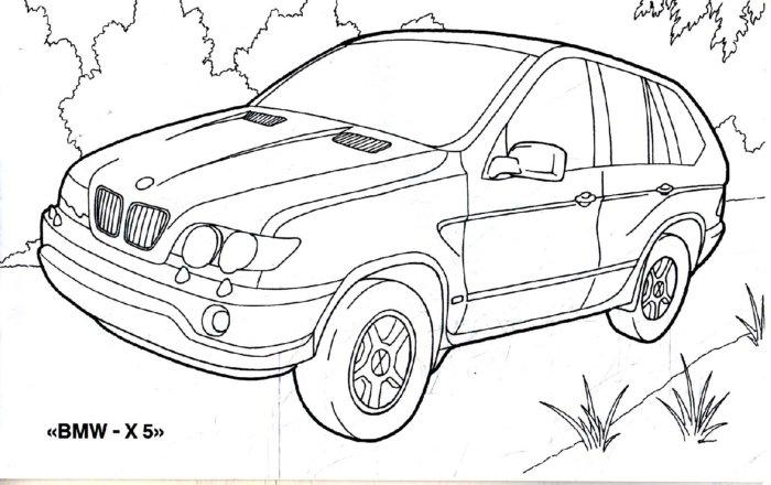 Иллюстрация 1 из 12 для Внедорожники. Раскраска   Лабиринт - книги. Источник: Лабиринт
