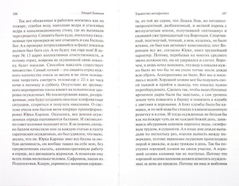 Иллюстрация 1 из 15 для Торжество метафизики - Эдуард Лимонов | Лабиринт - книги. Источник: Лабиринт