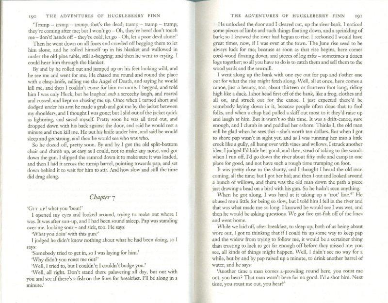 Иллюстрация 1 из 9 для Tom Sawyer & Huckleberry Finn - Mark Twain | Лабиринт - книги. Источник: Лабиринт